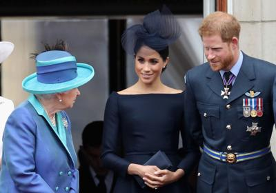 Meghan did not dial into royal crisis talks with Queen, source says