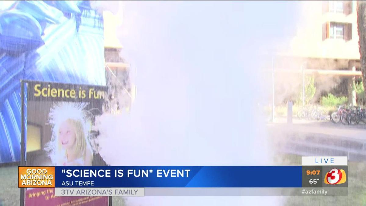 VIDEO: ASU's 'Science is Fun' event