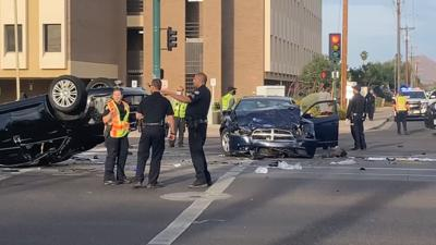 Two car collision in Phoenix