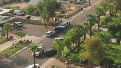 Phoenix police motorcycle officer assaulted