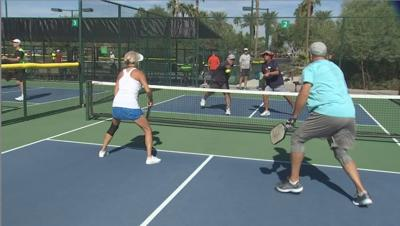 Pebble Creek Pickleball club is the biggest in the world