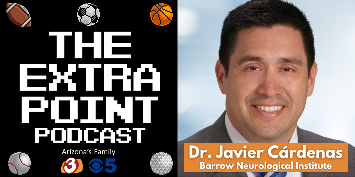 The Extra Point Podcast: Concussions in sports with Dr. Javier Cárdenas