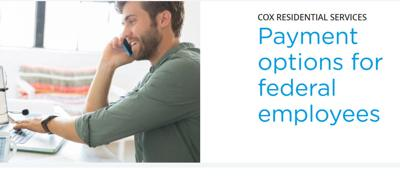 Cox helps our government workers