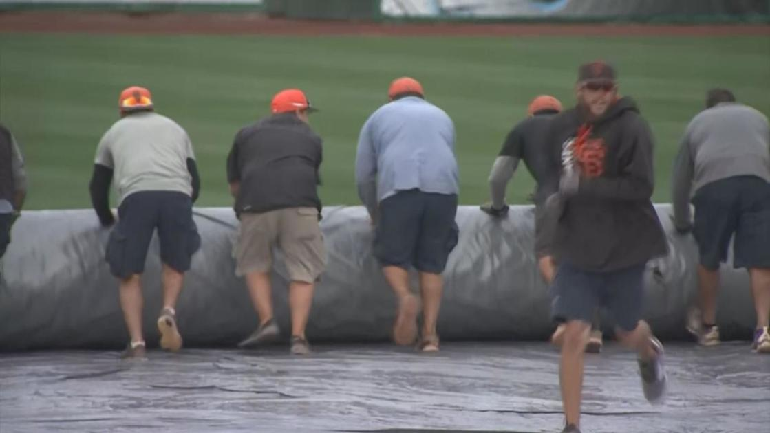 Rain cancels D-backs Spring Training game
