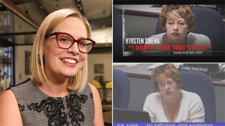 Attack ad hits Arizona Senate candidate Kyrsten Sinema for past comments on underage prostitution