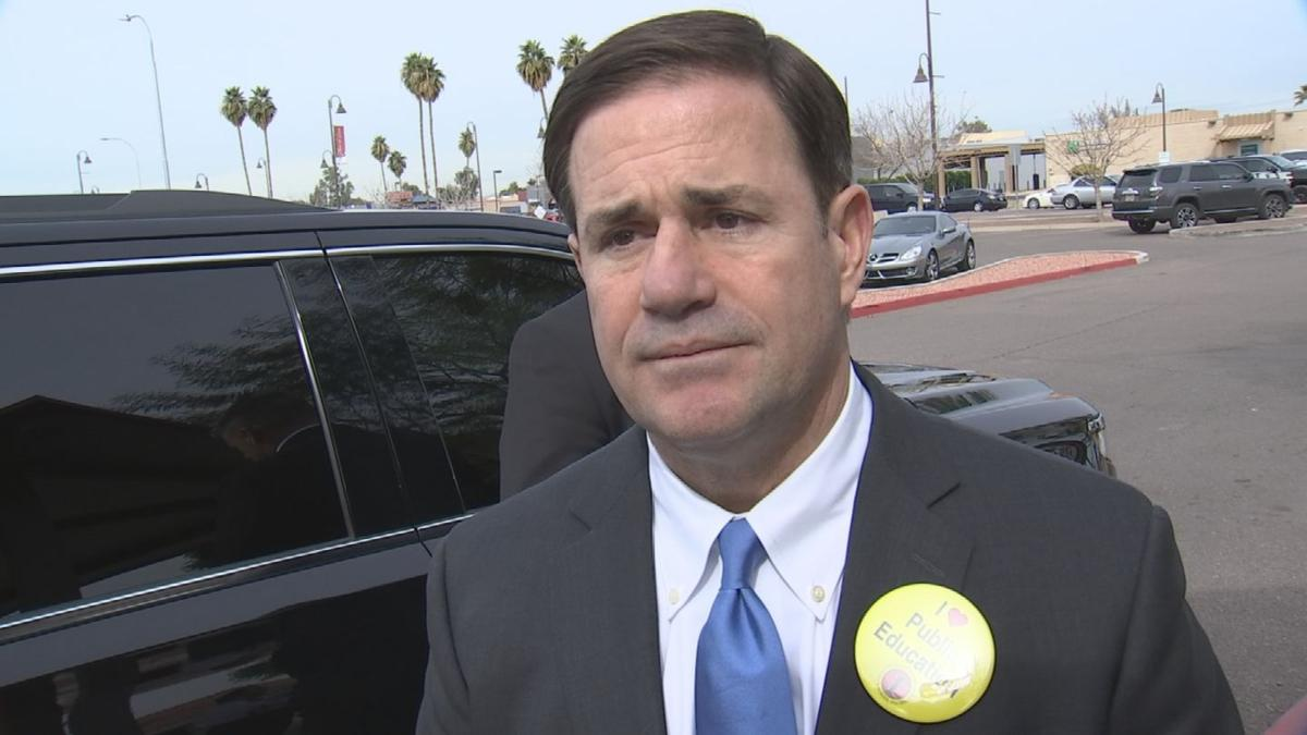 Governor Doug Ducey Wheatcroft Glendale PD