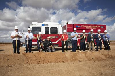City of Surprise breaks ground on new fire station