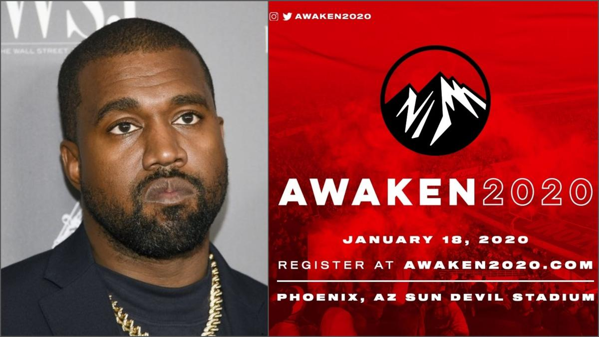 Kanye West to speak at Awaken 2020