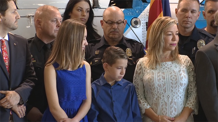 Widow of former Phoenix police officer Craig Tiger grateful for new law expanding PTSD treatment