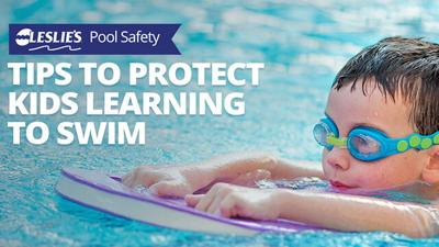 5 Tips to Protect Kids Learning to Swim - Leslie's Pool Supply