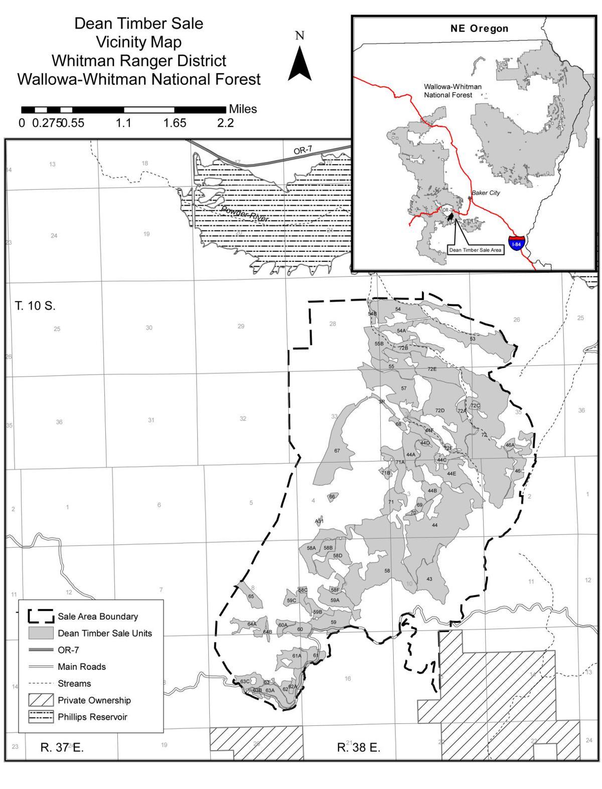 Wallowa-Whitman to award two timber sales