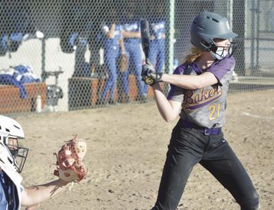Baker softball