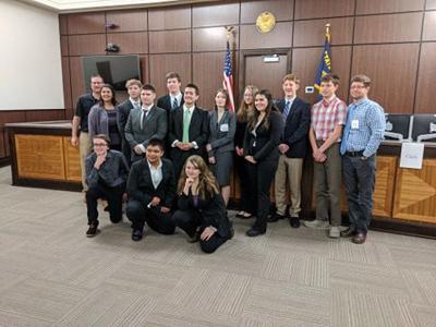 BHS mock trial team