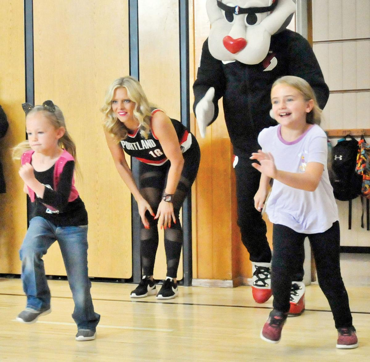 Rip City Rally Visits Brooklyn Primary School