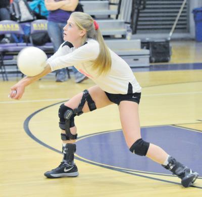 Baker volleyball