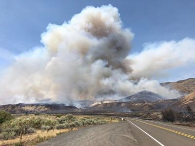 Indian Creek fire