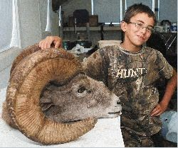 12-year-old gets his ram