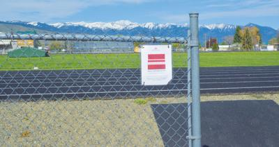 BHS track closed