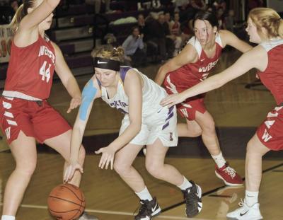 Baker girls basketball