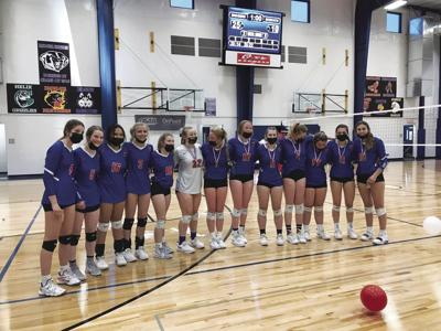 Powder Valley volleyball