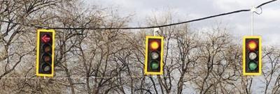 Traffic signal borders