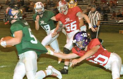 West routs East 43-10 in 67th game