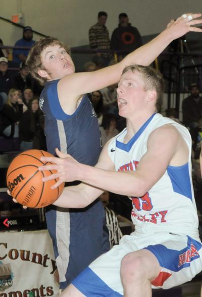 Powder Valley boys basketball