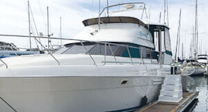 1994 Silverton 41ft. aft cabin, low hrs. xlnt cond., perfect