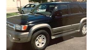Toyota 4Runner, 2000, 235k mi. V6, AC, hitch, new brakes