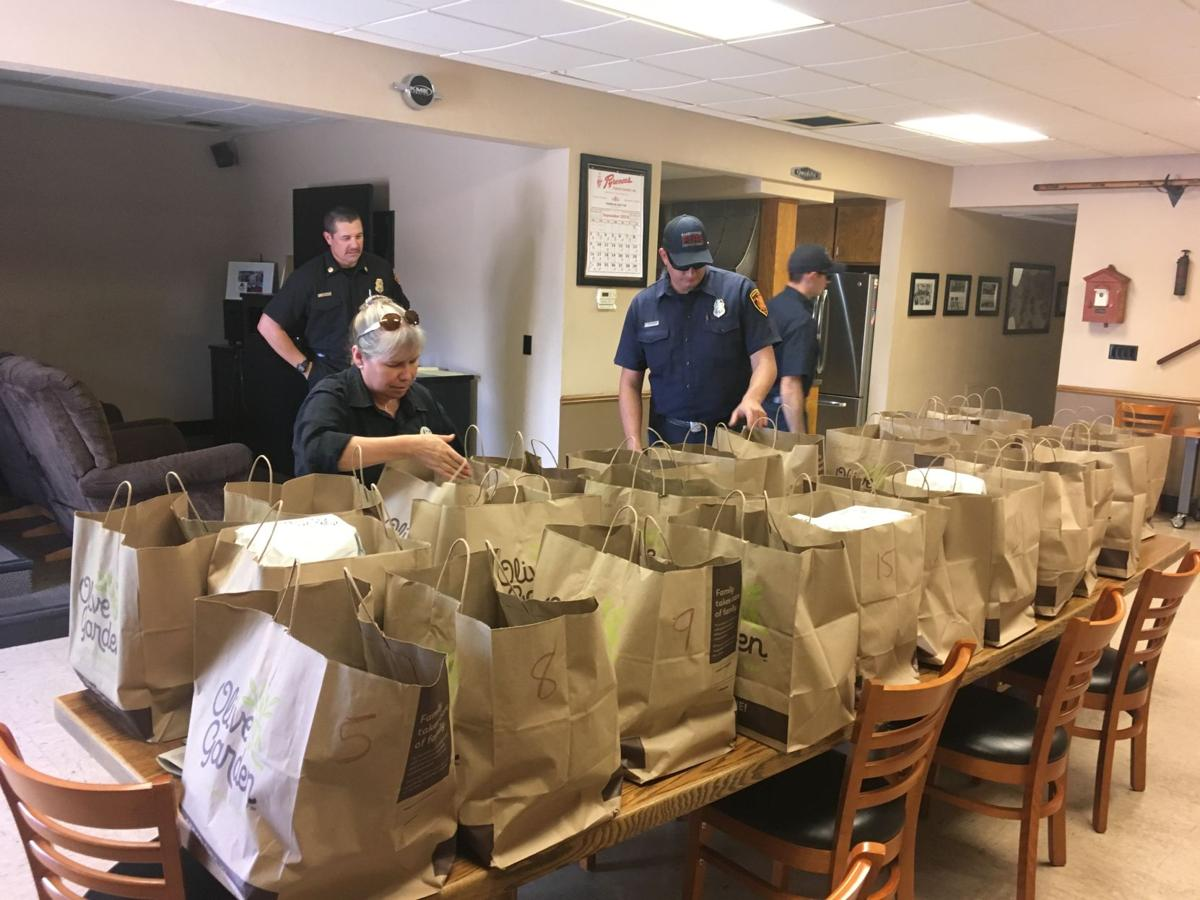Olive Garden delivers meals to all Bakersfield firefighters for ...