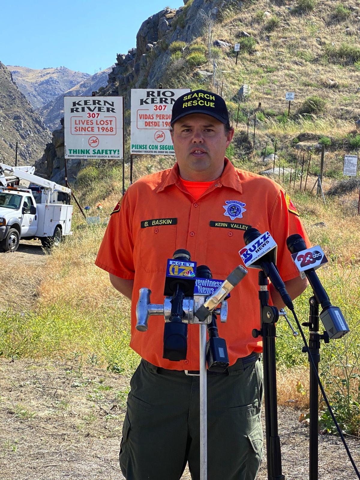 kr deaths Brian Baskin Capt SaR Kern River Valley