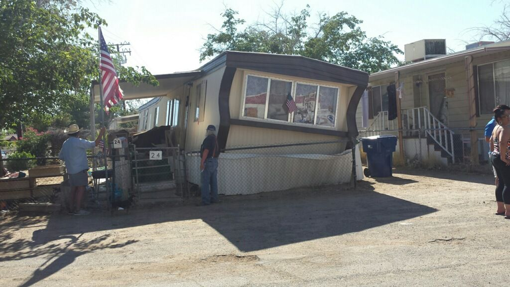 Ridgercrest mobile home