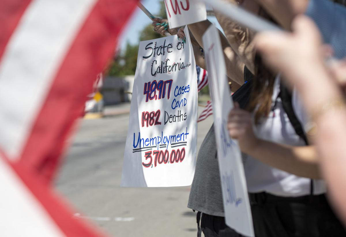 open kern county freedom protest