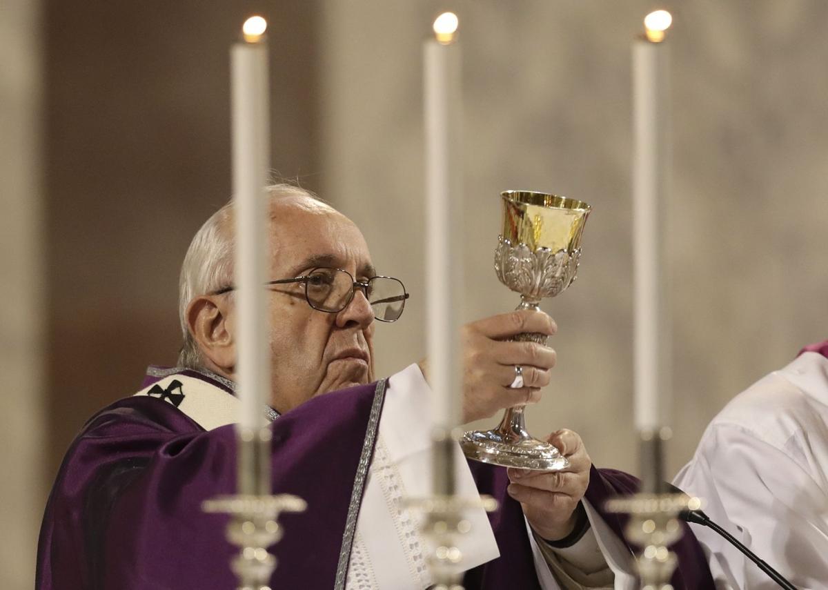 APTOPIX Italy Pope Ash Wednesday