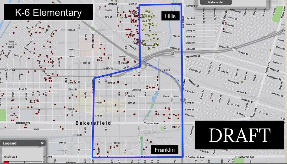 downtown elementary map