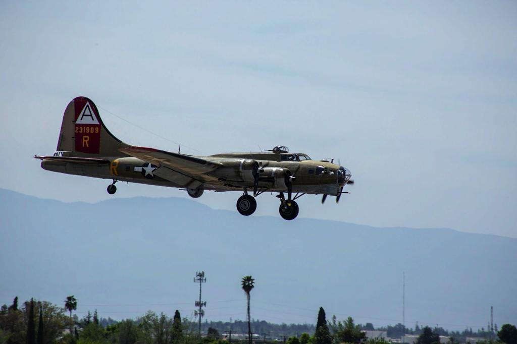Vintage World War II-era planes touch down in Bakersfield