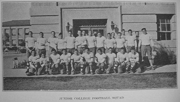 BC football 1930