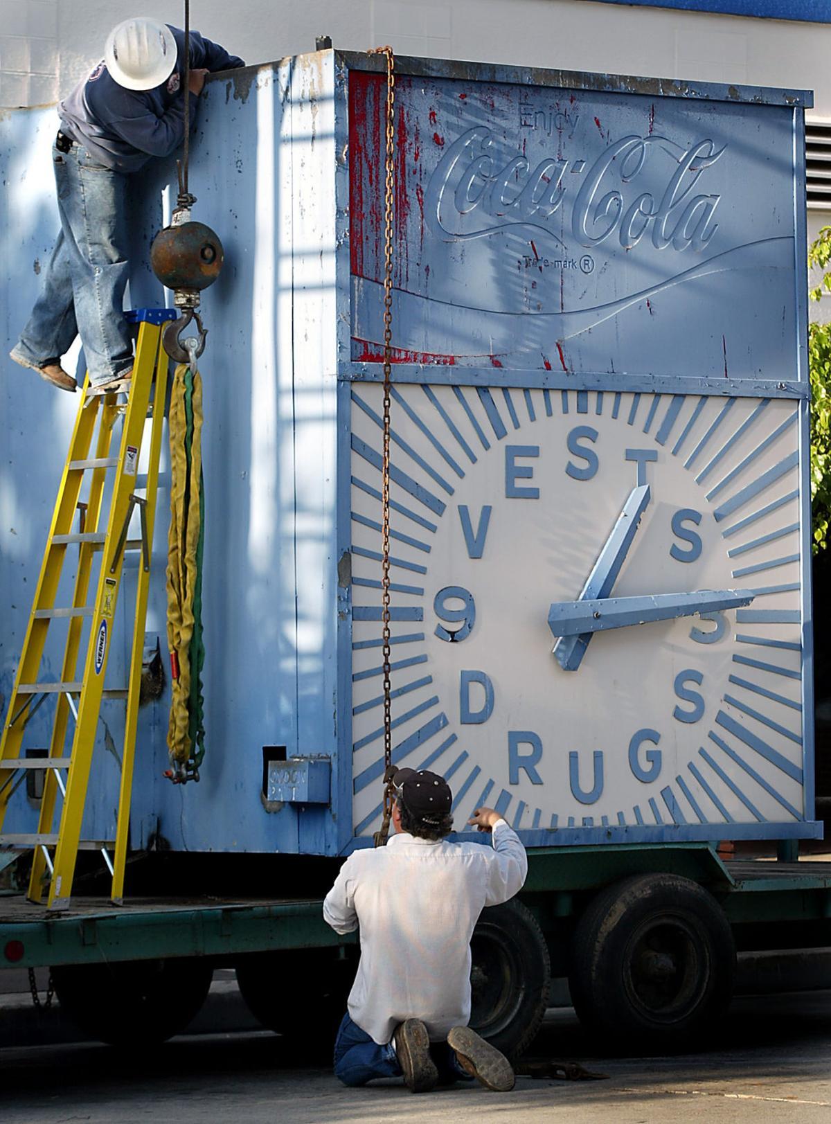 Vests clock