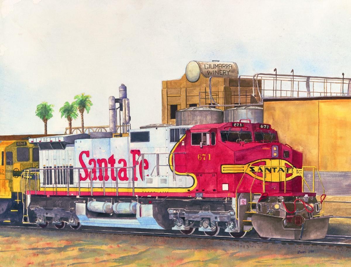 Trains Bates 2