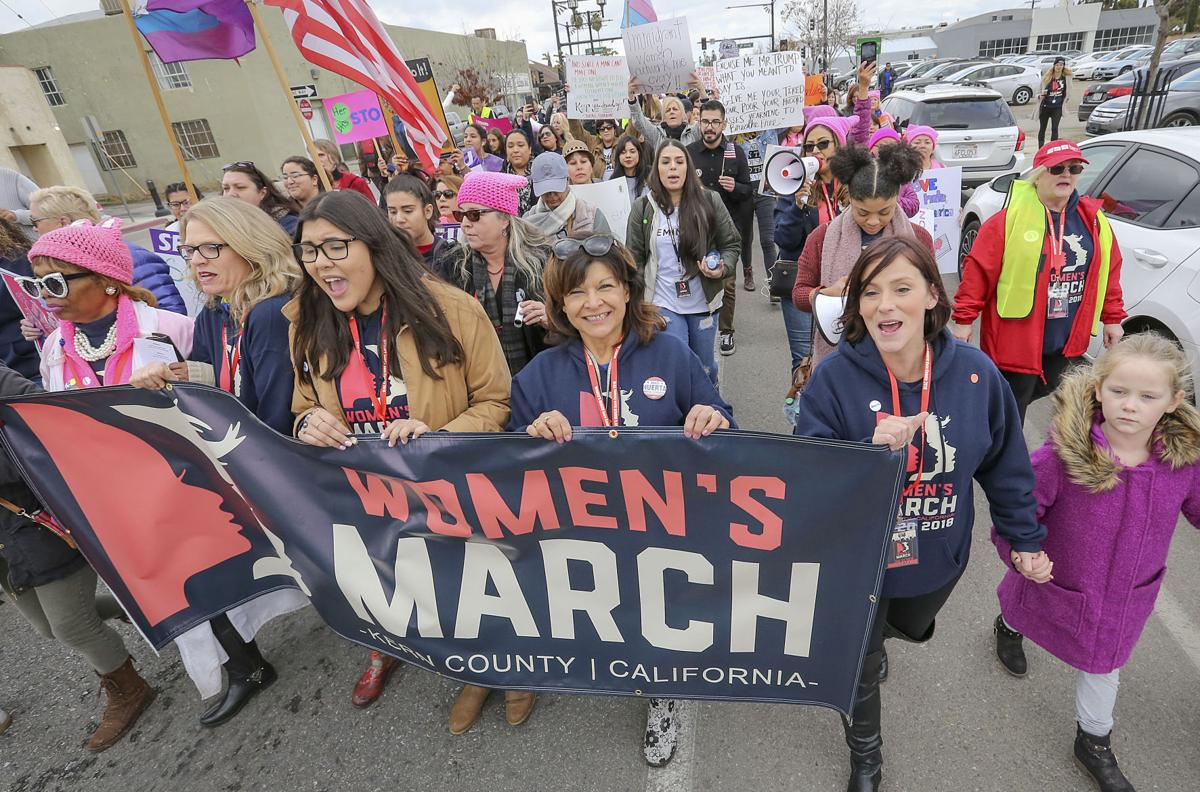 Equal treatment, rights focus of Kern County Women's March
