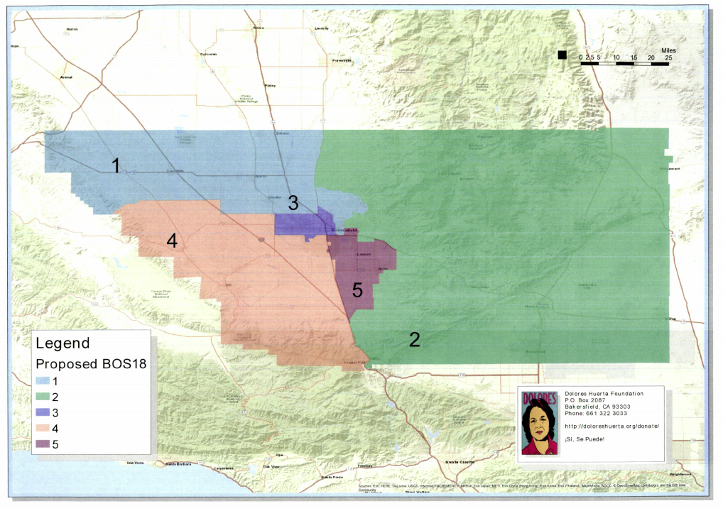 Bakersfield Californian Map Latinos call for immediate re drawing of Kern County political map  Bakersfield Californian Map