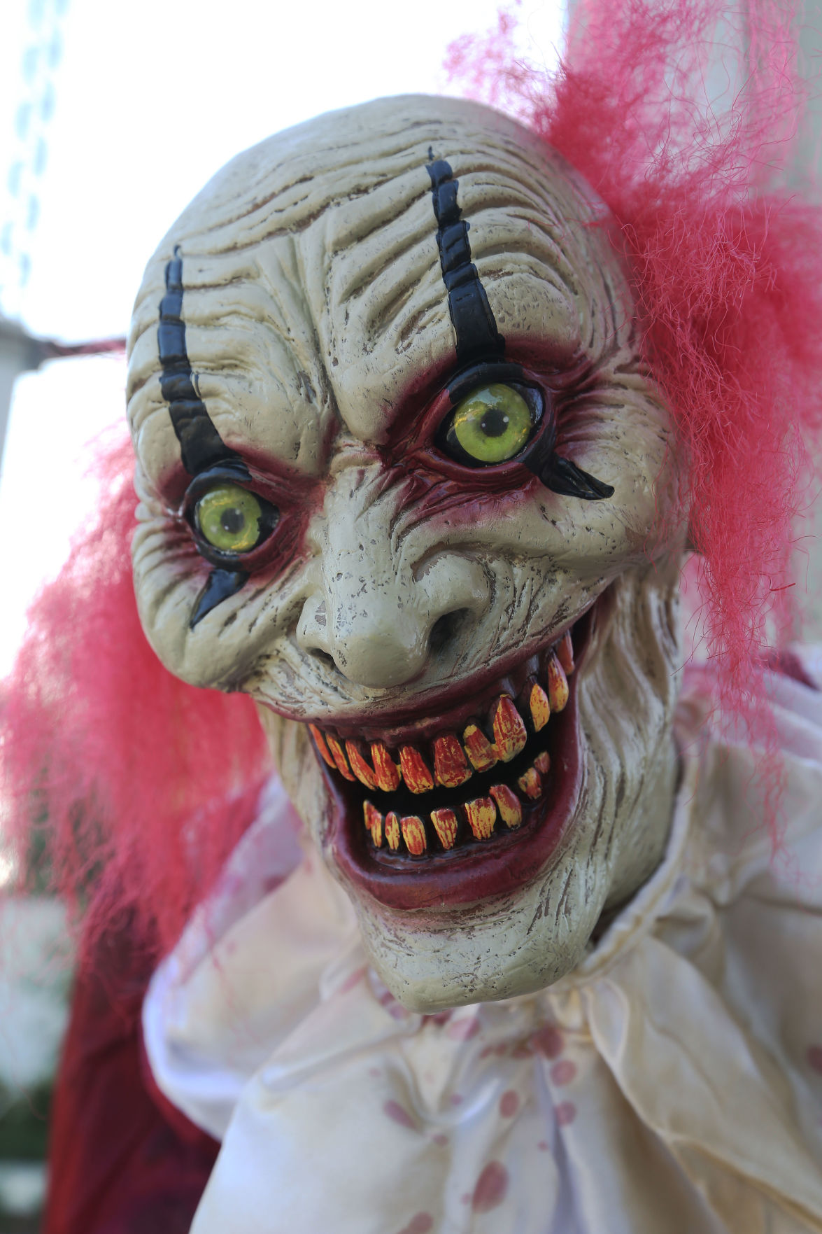 Scare Valley clown face