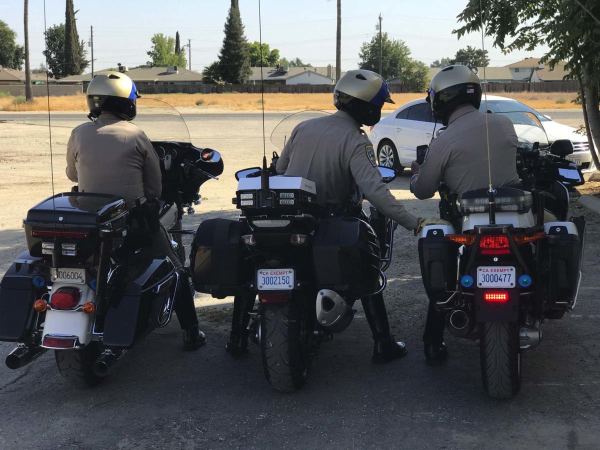 Officers waiting for violators
