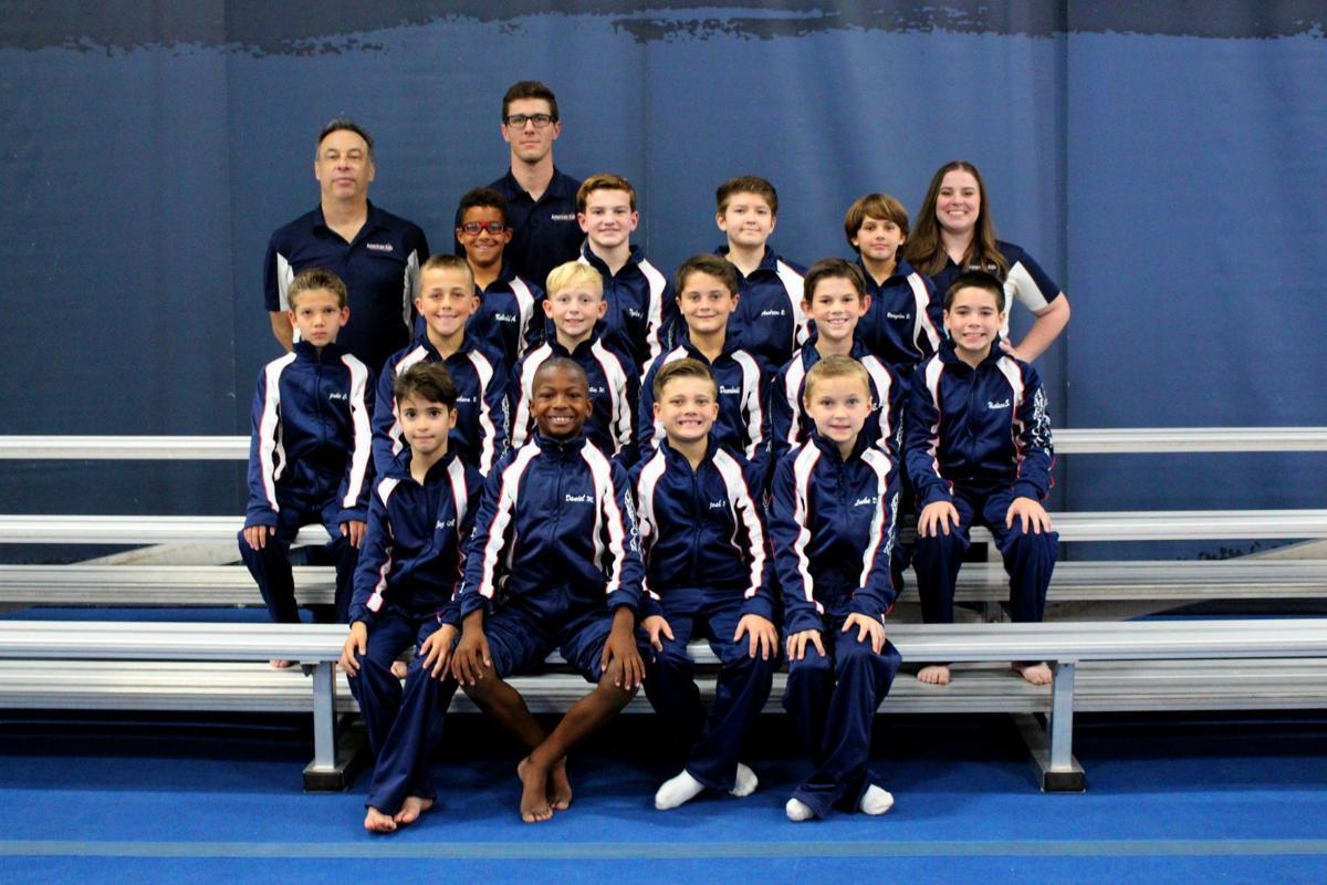 American Kids Sports Center's boys gymnastics