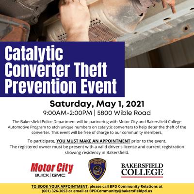 Catalytic Converter Event Instagram Post