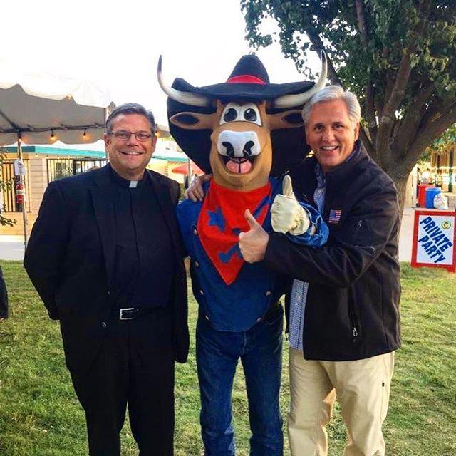 Kevin McCarthy at Kern County Fair