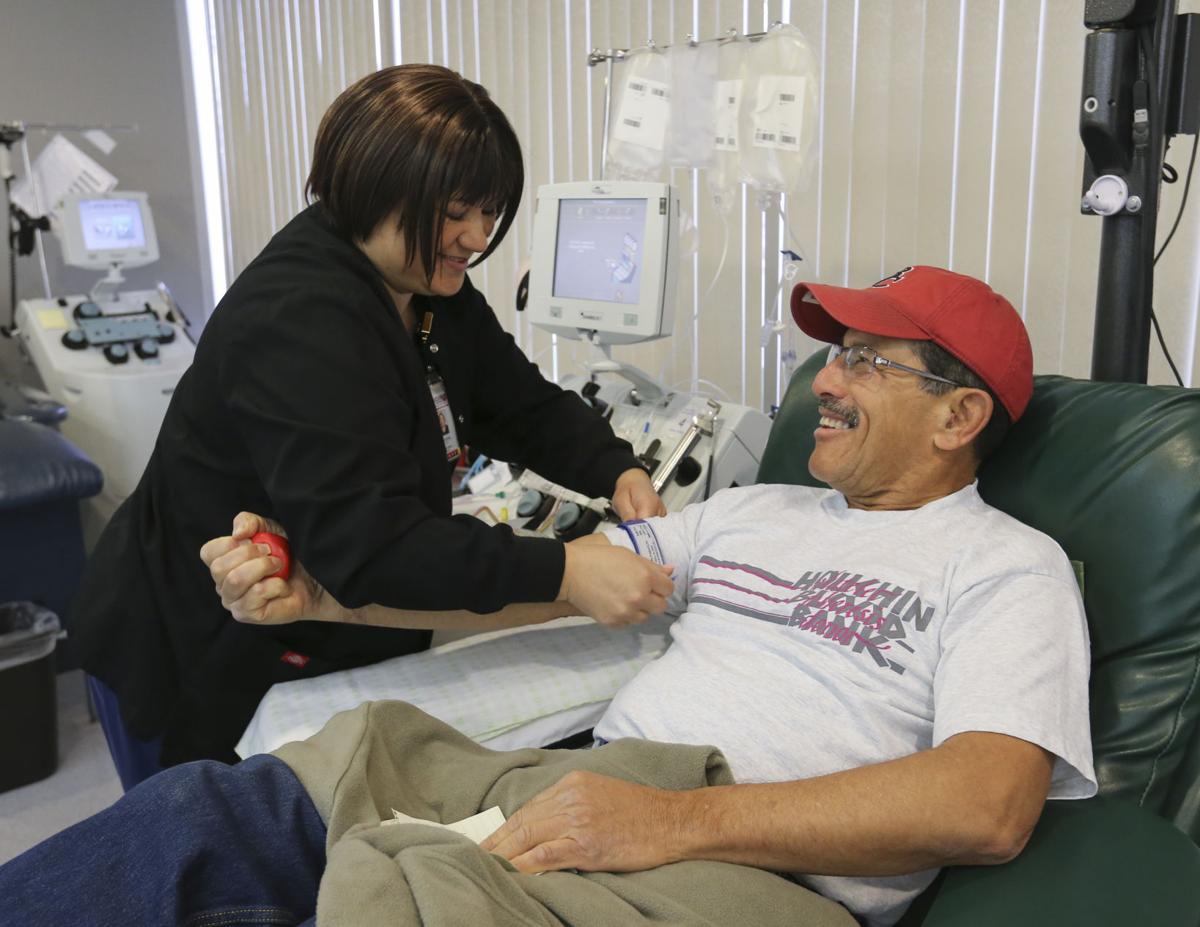 Houchin Blood Bank, Platelet Donor