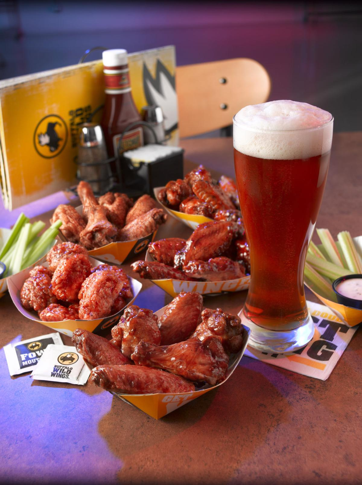 BWW Wings and Beer