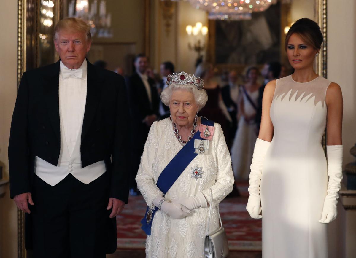 APTOPIX Britain Trump
