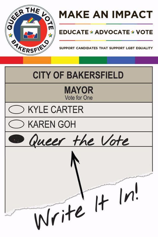 Queer the vote